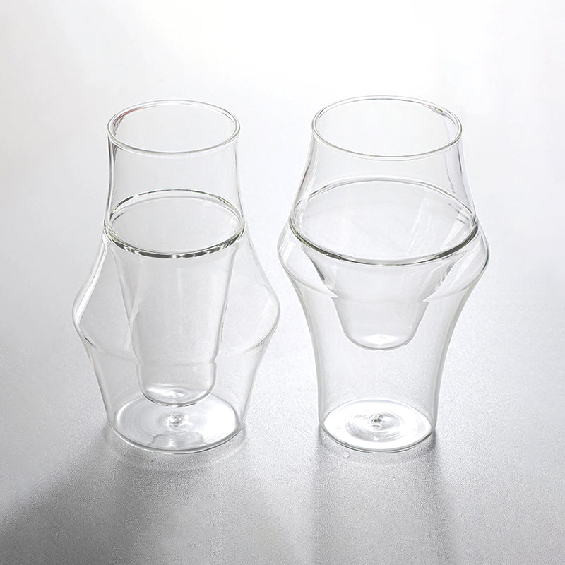 Vogue Espresso Tumblers, Set of 2
