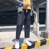 LAPPSTER Men Korean Style Harem Pants - HYM Store