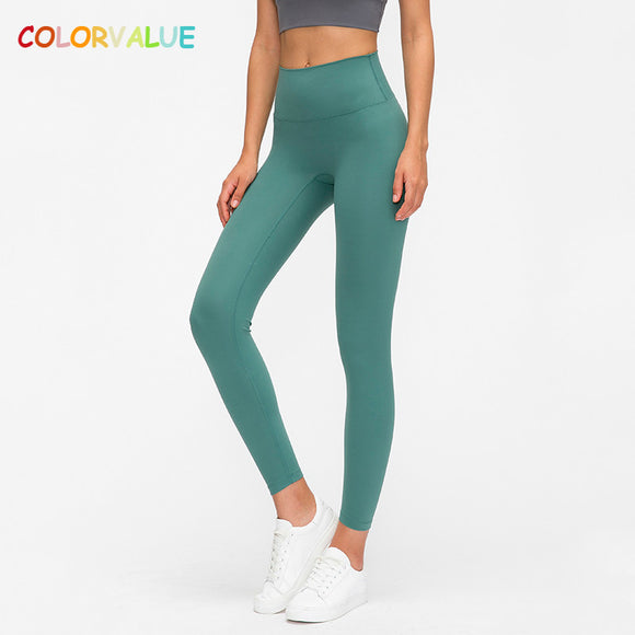 Colorvalue Classical 3.0 Version Soft Naked-feel Workout Gym Yoga Tights - HYM Store