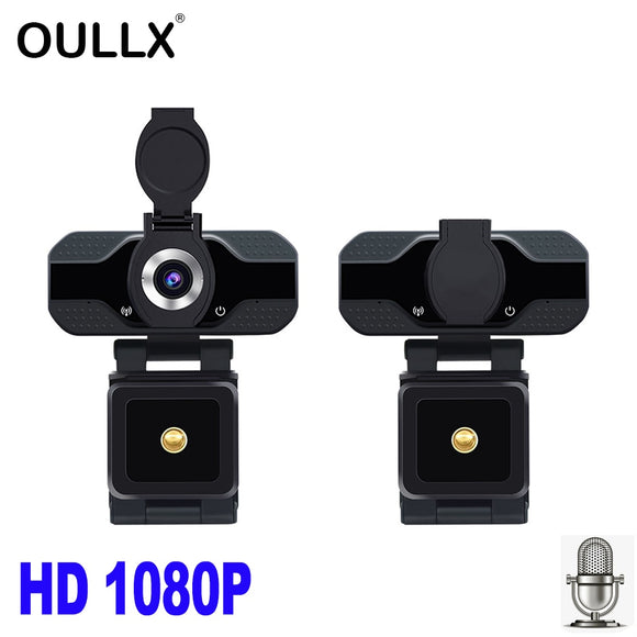 OULLX HD 1080P Webcam Built-in Microphone Smart Web Camera USB Pro Camera - HYM Store