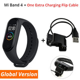 Band 4 Smart Bracelet 3 Color AMOLED Screen Miband 4 Smartband Fitness Traker