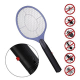 Summer Hot Cordless Battery Power Electric Fly Mosquito Swatter Bug Zapper Racket Insects Killer Home Bug Zappers