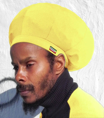 Jah Roots Stretch Hats (Yellow)