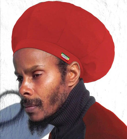 Jah Roots Stretch Hats (Red)