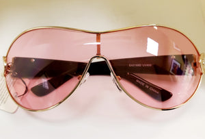 Tinted Lens Aviator Sunglasses