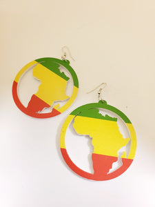 Painted Circle Earrings (More Styles/Colors)