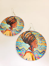 Load image into Gallery viewer, Painted Circle Earrings (More Styles/Colors)