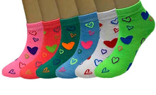 Load image into Gallery viewer, Women's Printed Cotton Ankle Socks