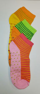 Women's Printed Cotton Ankle Socks