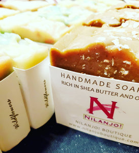 Handmade Shea & Olive Oil Soap Bars
