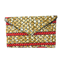Load image into Gallery viewer, Cloth African Print Envelope Clutch