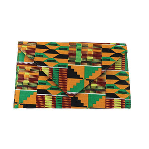 Cloth African Print Envelope Clutch