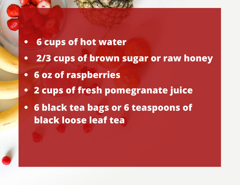 pomegranate ice tea recipe