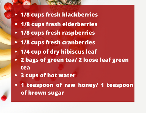 berry hibiscus recipe