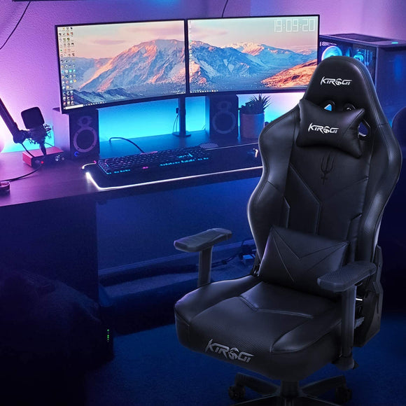 Kirogi Poseidon Ergonomic Gaming Chair With Lumbar Support - Gaming Chairs Ireland