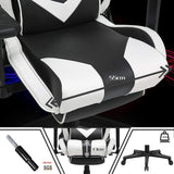 Kirogi Panther Ergonomic Gaming Chair With Footrest & Lumbar Support - Housetech.ie