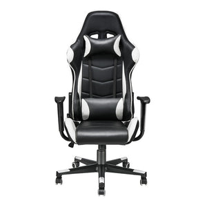 Adjustable Ergonomic PU Leather Gaming Office Chair (Multiple Colour Choices) - Gaming Chairs Ireland