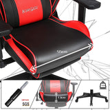 Kirogi Spider Ergonomic Gaming Chair With Footrest (Multiple Colours) - Housetech.ie