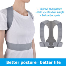 Load image into Gallery viewer, Back Posture Corrector Clavicle Spine Back