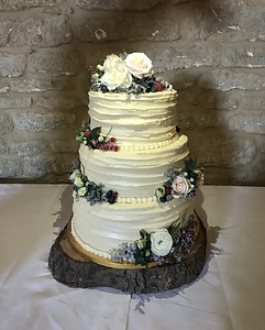 Three Tier Celebration Cake