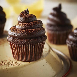 6 Mini Chocolate Cupcakes