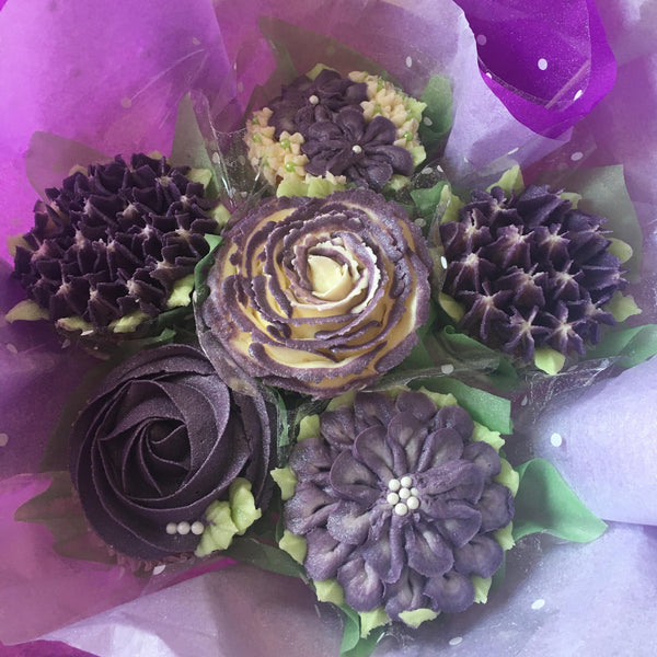 Six Cake Cupcake Bouquet