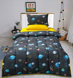 Cartoon Character Summer Bed Spread  - Universe