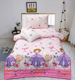 Cartoon Character Bed Spread Set - Princess