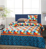7 PCs Bed Sheet Set - Teche Star