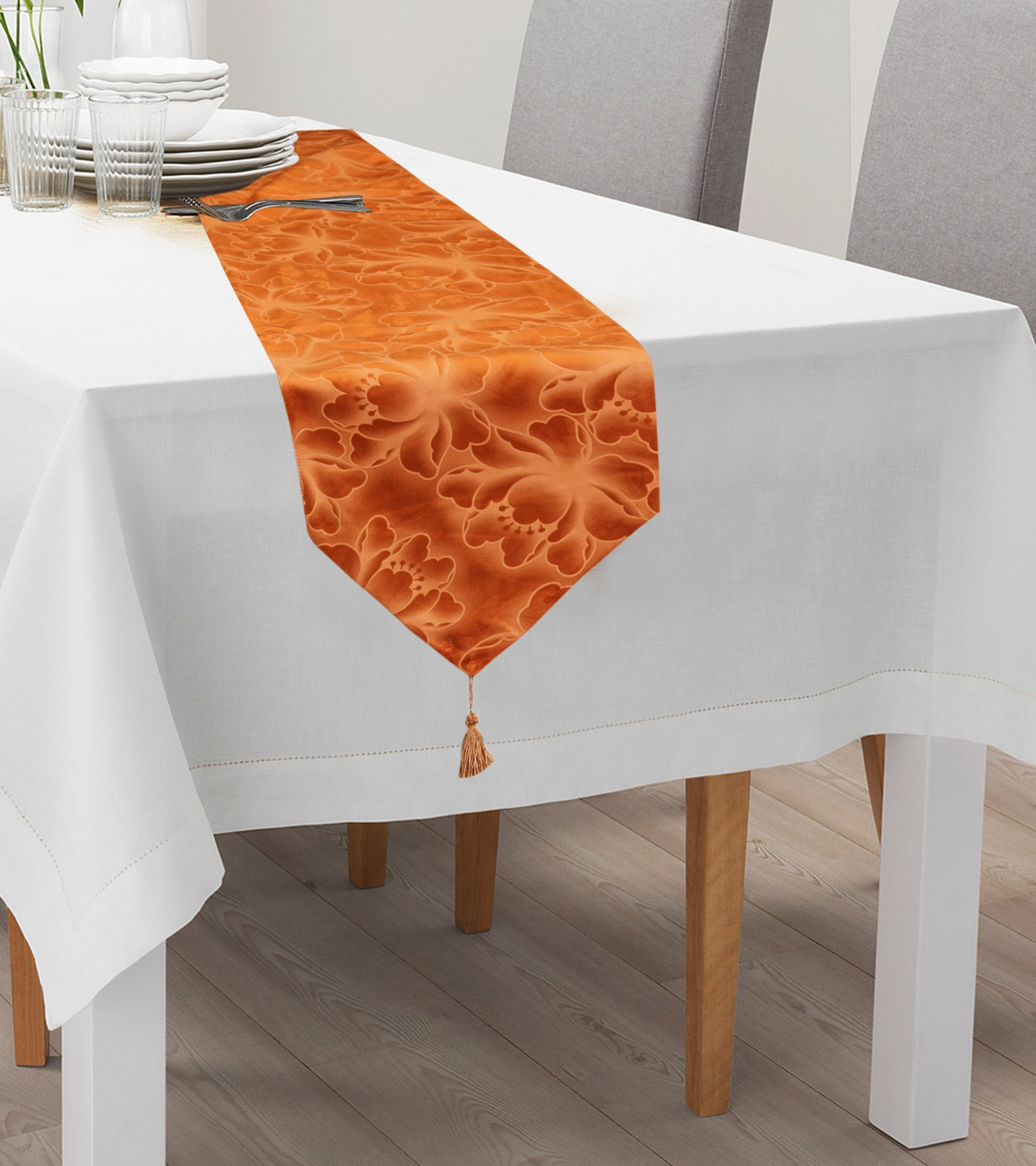 7 PCs Table Runner and Placemats Set