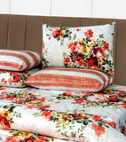 3 PCs Cotton Bed Sheet - Glora