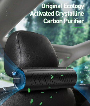 New  Air Purifier Ionizer Negative Ion Car Air Freshener