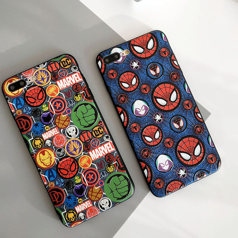 Cool Marvel  Iphone case