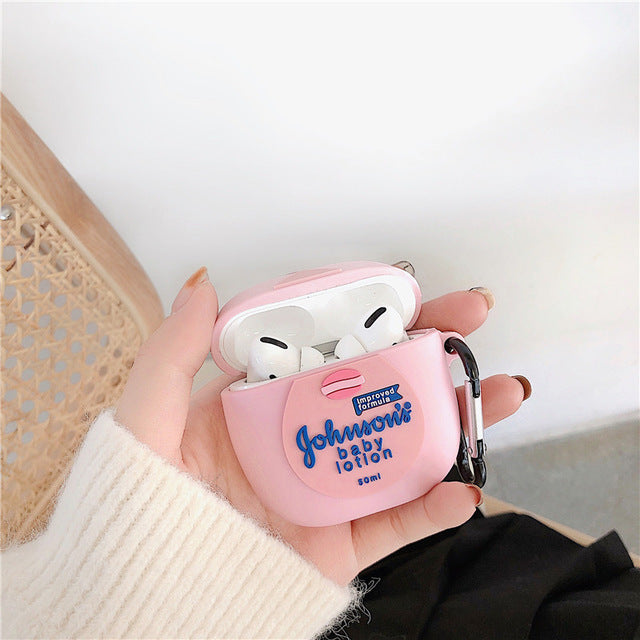 3D Cartoon AirPods Case