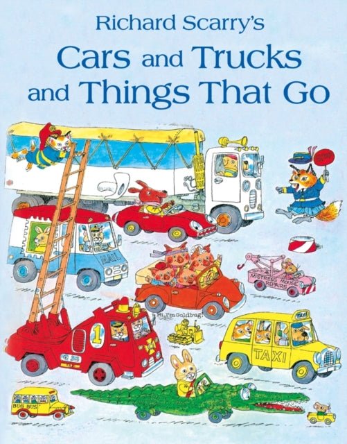 CARS & TRUCKS & THINGS THAT GO-9780007357383