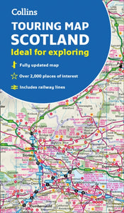 Scotland Touring Map : Ideal for Exploring-9780008320379
