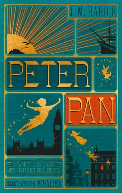 Peter Pan (Illustrated with Interactive Elements)-9780062362223