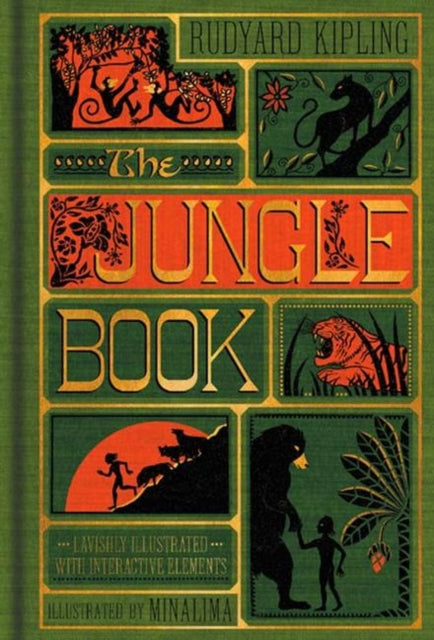 The Jungle Book : (Illustrated with Interactive Elements)-9780062389503