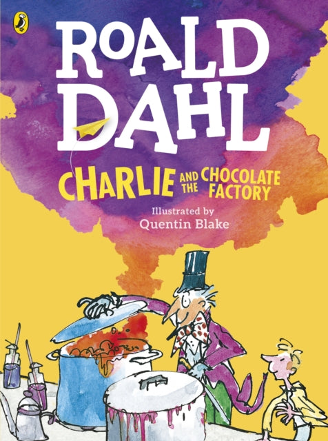 Charlie and the Chocolate Factory (Colour Edition)-9780141369372