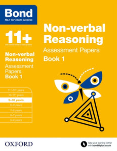 Bond 11+: Non-verbal Reasoning: Assessment Papers : 9-10 years Book 1-9780192740243