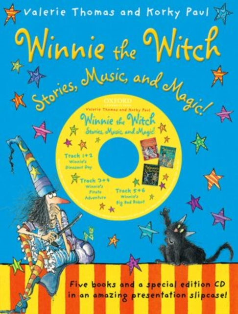 Winnie the Witch: Stories, Music, and Magic! with audio CD-9780192743374