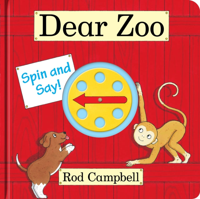 Dear Zoo Spin and Say-9780230770195