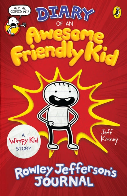Diary of an Awesome Friendly Kid : Rowley Jefferson's Journal-9780241405703
