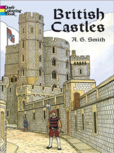 British Castles Coloring Book-9780486439679
