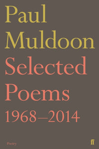 Selected Poems 1968-2014-9780571327966