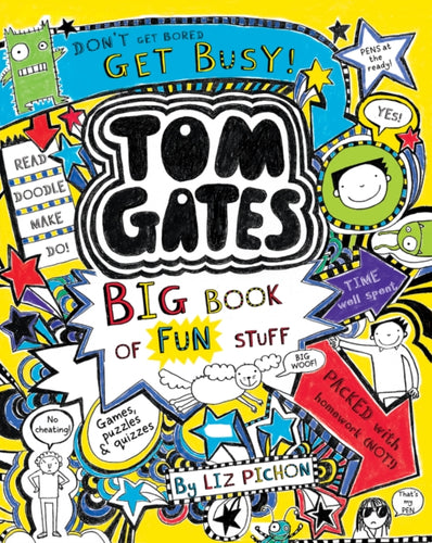 Tom Gates: Big Book of Fun Stuff-9780702306204