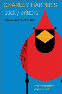 Charley Harper's Sticky Critters : An Animal Sticker Kit-9780764963346