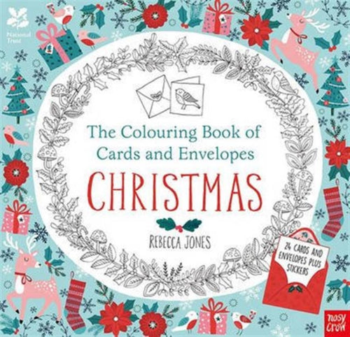 National Trust: The Colouring Book of Cards and Envelopes - Christmas-9780857637260