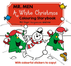 Mr Men A White Christmas Colouring Storybook-9781405287746
