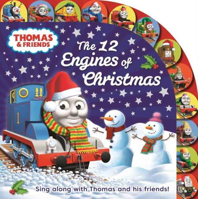 Thomas & Friends: The 12 Engines of Christmas-9781405291705